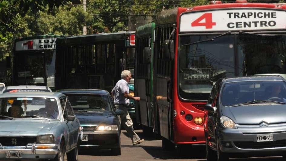 El Centro es un caos vehicular: mirá todos los lugares para informarte sobre los cortes
