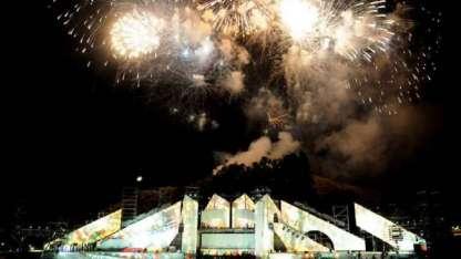 En la Fiesta Nacional de la Vendimia hace dos años que se utiliza pirotecnia fría.