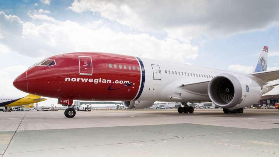 Norwegian Air Argentina planea en junio arrancar con la ruta Buenos Aires-Mendoza
