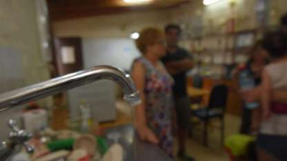 El barrio Sanidad es, históricamente, uno de los más afectados por la peródica escasez de agua potable en las casas.