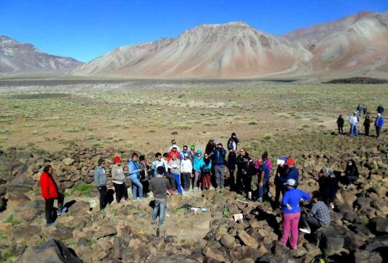 Gran hallazgo arqueológico en la Laguna del Diamante