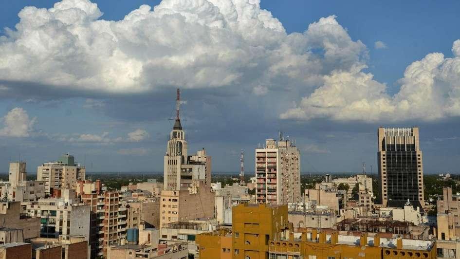 Rige un alerta por tormentas fuertes para el centro de la provincia