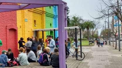 La Casa LGBTI en Rosario.