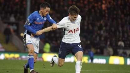 El argentino, Juan Foyth, volvió a estar entre los titulares del Tottenham.
