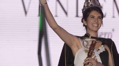Aldana Escudero fue coronada Reina de la Vendimia de Guaymallén 2018