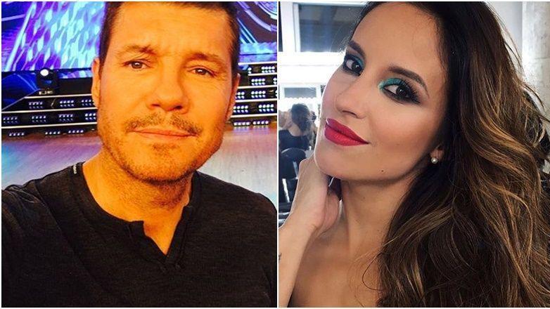 El picante cruce entre Laurita Fernández y Marcelo Polino