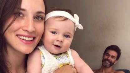 La tierna foto de Camila Cavallo amamantando a su beba