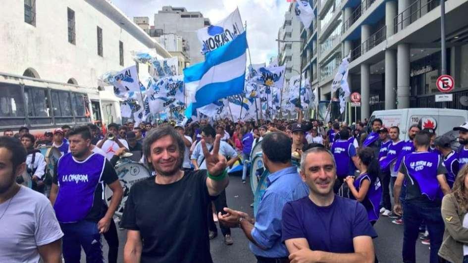 Tras la marcha, Marcos Peña cruzó duro a Moyano