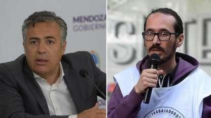 Cornejo y Henríquez, enfrentados en la paritaria docente.
