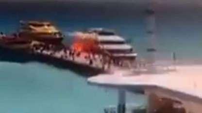 Las autoridades de Quintana Roo investigan el origen de la explosión.