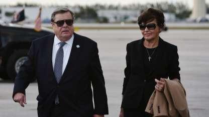 Los eslovenos Viktor y Amalija Knavs lograron su residencia en EEUU. / Archivo