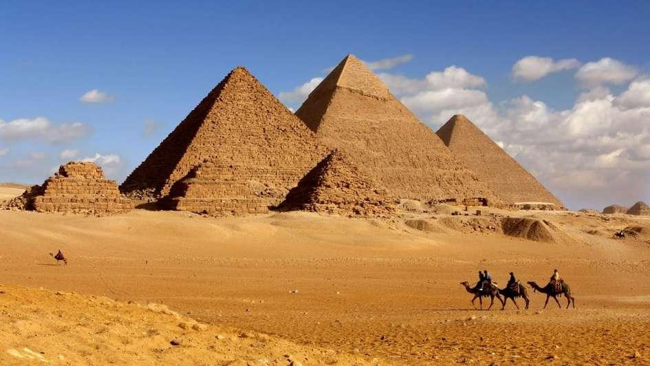 revelaron por qué las pirámides de egipto están alineadas con los