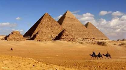 Los antiguos egipcios se guiaron con el equinoccio de otoño para construir las pirámides de Giza.