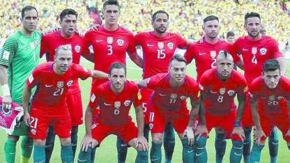 Chile, uno de los mejores de Sudamérica, no estará en la cita mundialista.