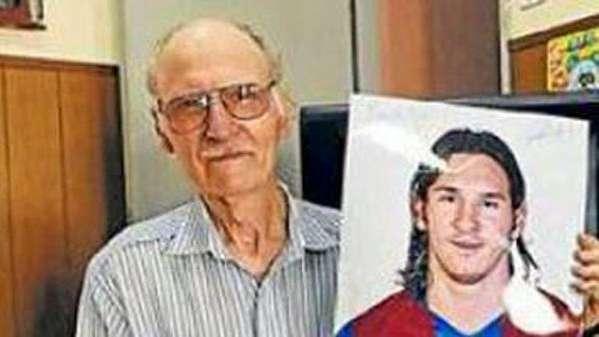 Duro golpe para Lionel Messi: murió su abuelo materno en Rosario