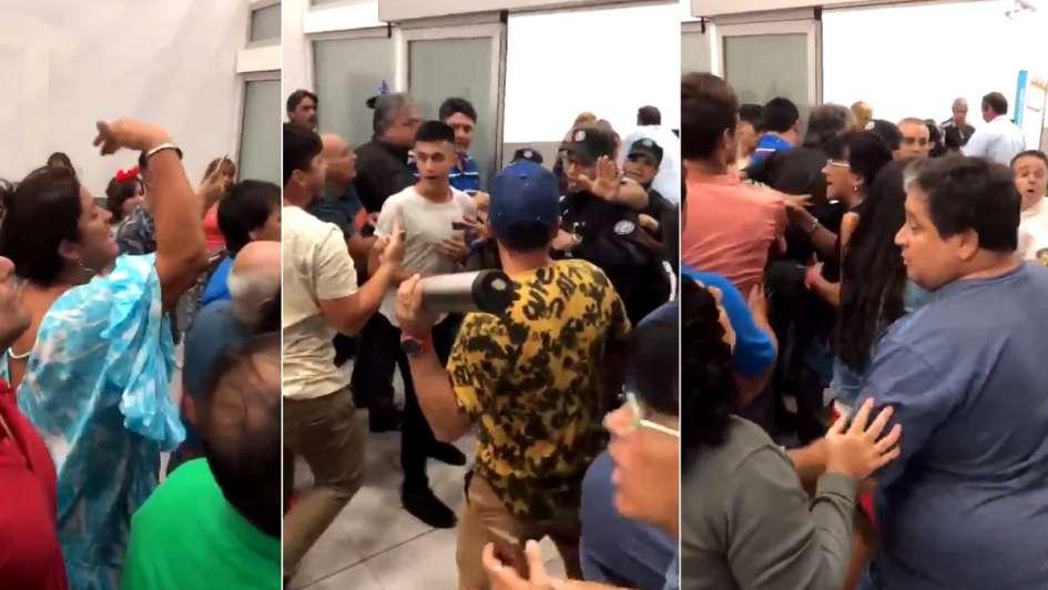 Padres de quinceañeras se enfrentaron con la policía — Rosario
