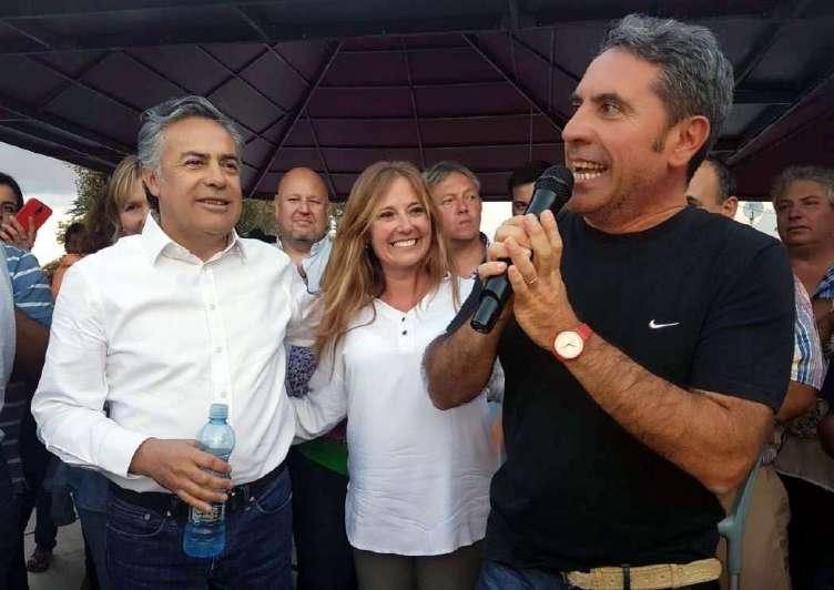 Cornejo y Difonso festejaron por los concejales de San Carlos