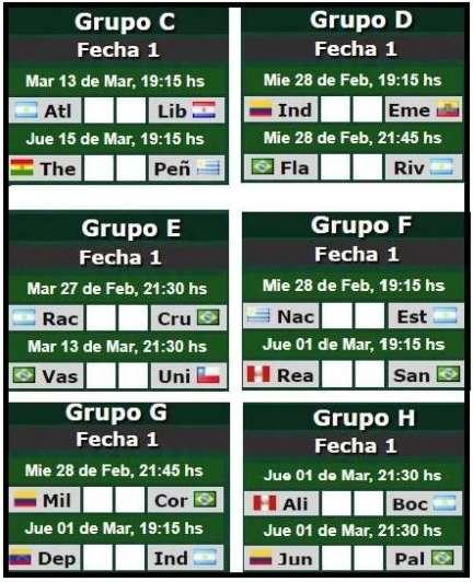 Transmitirán la Libertadores por televisión abierta desde el 2019