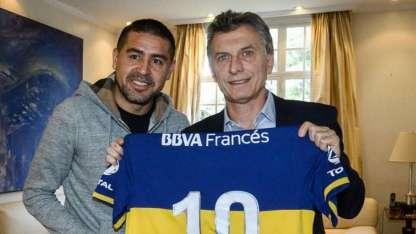Riquelme aseguró que Macri debe tener problemas más importantes que elegir un árbitro para que dirija a Boca.