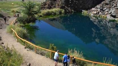 Laguna de la Niña Encantada.