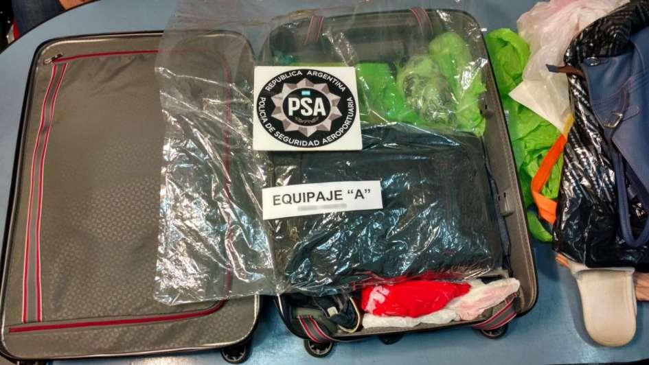Detienen en Argentina a ruso que traficaba cocaína a Alemania