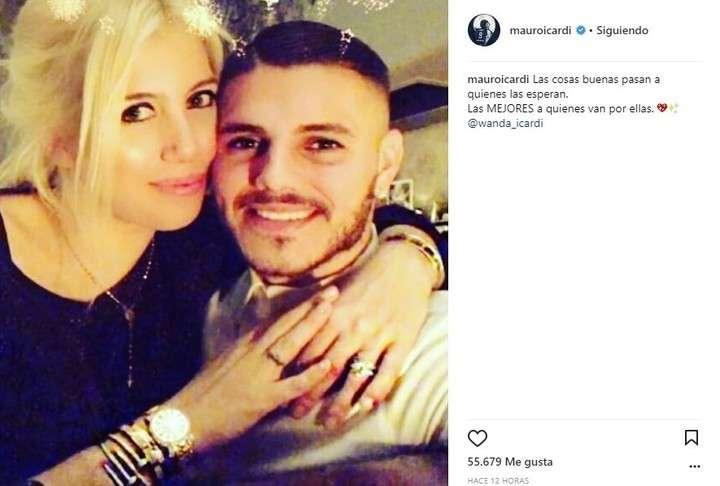 ¿Wanda le fue infiel a Mauro Icardi?