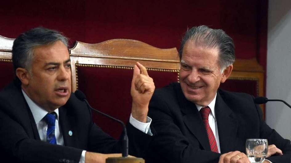 gobernador y el presidente de la corte