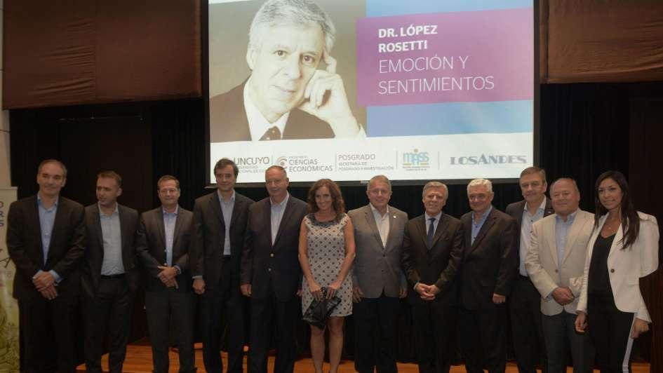 El doctor Daniel López Rosetti habló de sentimientos y emoción