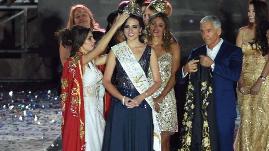 Julieta, de Rivadavia, es la reina de la Vendimia 2018