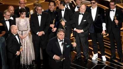Guillermo del Toro fue el gran ganador de la noche.