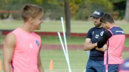 Pablo De Muner realizaría algunas modificaciones para el choque ante Boca Unidos.