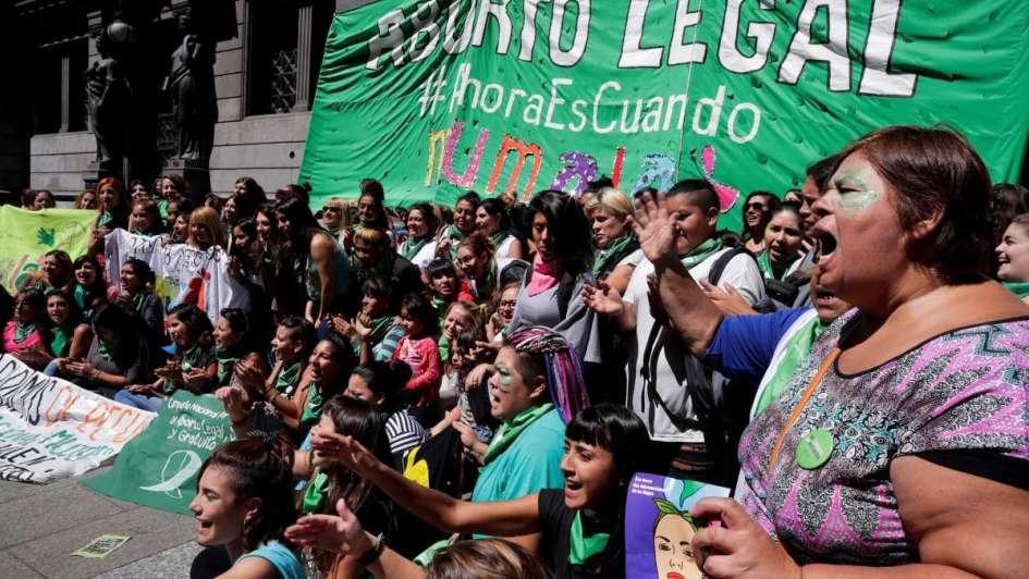 Argentina abre hoy por primera vez el debate parlamentario del aborto