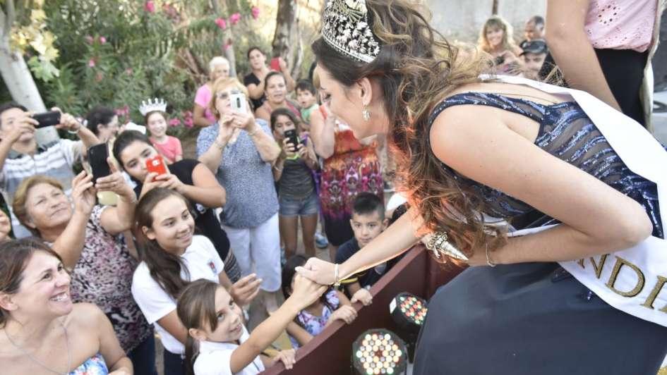 La Reina en su casa: Julieta volvió a Rivadavia y la recibió una multitud