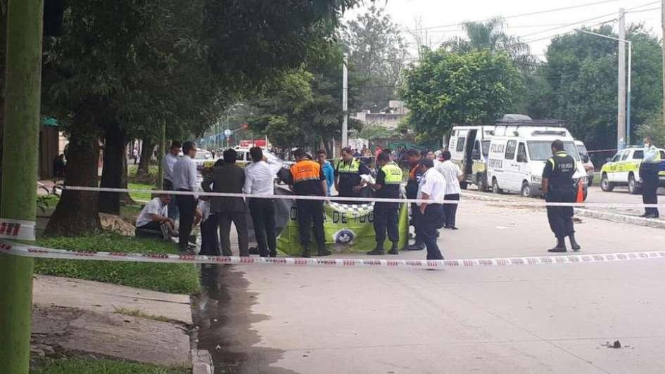 Murió un niño durante una persecución policial
