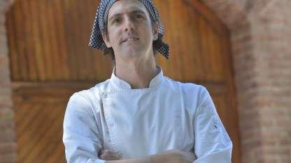 Santiago López ha recreado, para su restaurante, recetas para entrada, plato principal y postre.