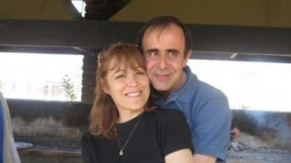 Carleti y su ex esposo, Leonardo Hisa.
