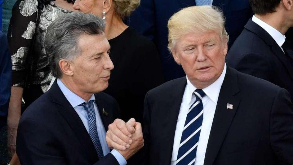Macri pidió a Trump que evalué los aranceles a las importaciones de aluminio y acero
