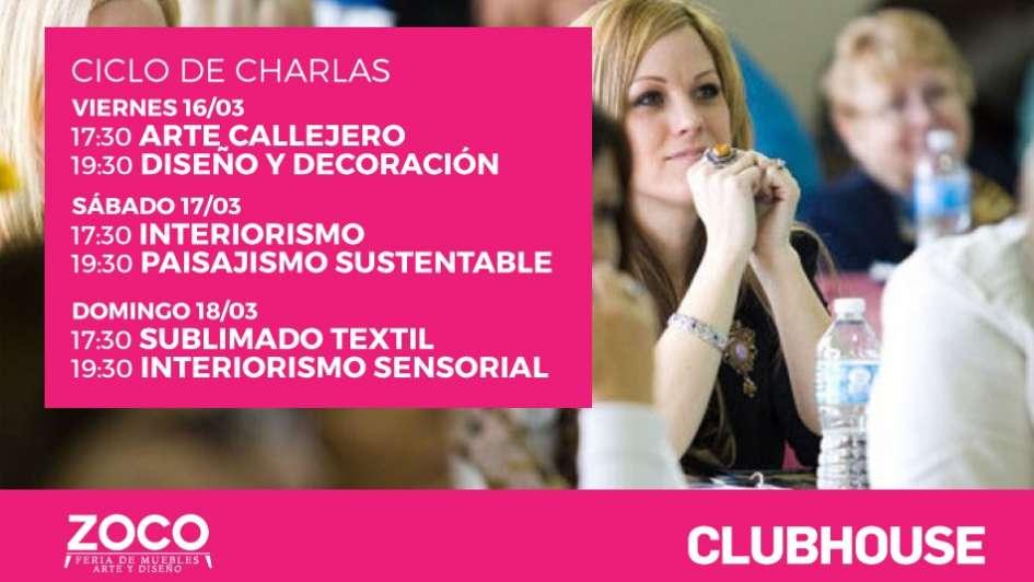 Revista ClubHouse participará en Zoco con sus momentos de capacitación