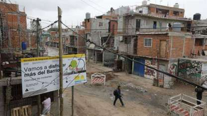 Barrio 31 (ex villa 31) en Buenos Aires