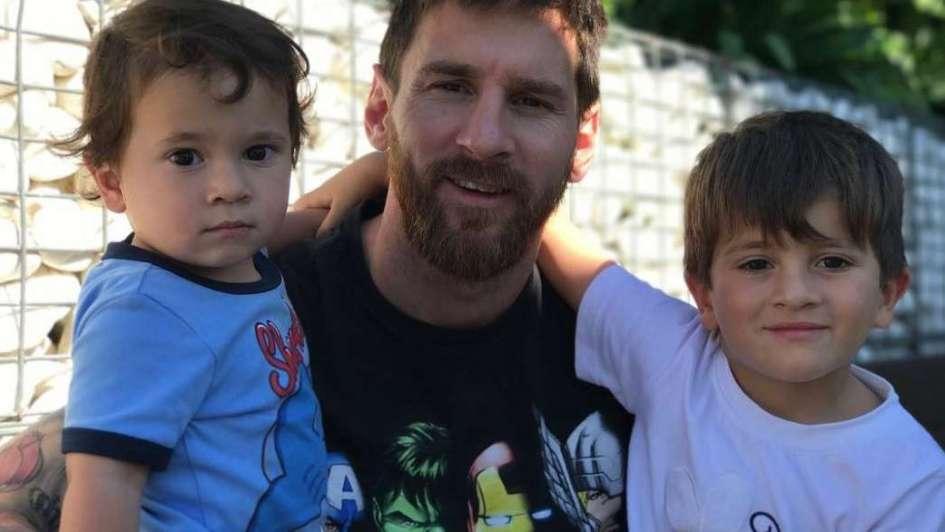 Nació Ciro, el tercer hijo del crack argentino — Lionel Messi