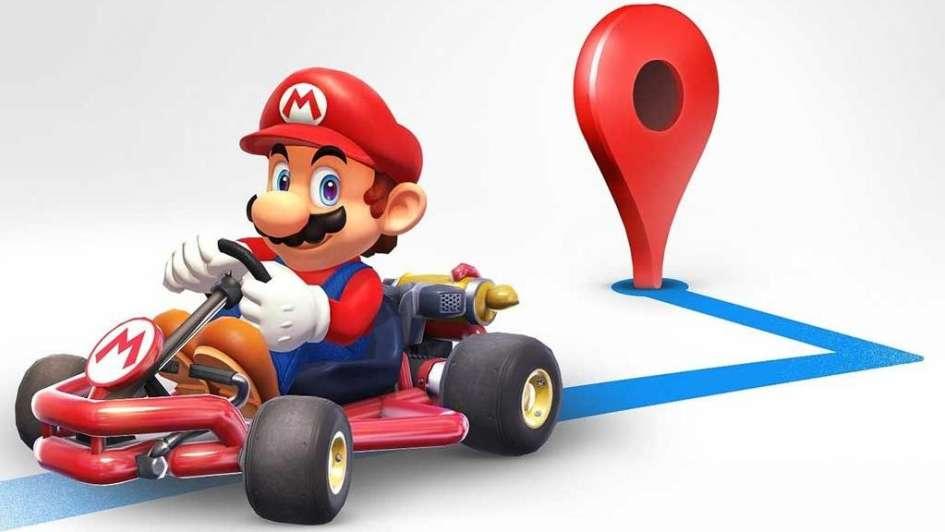 Mario Kart llega a GoogleMaps para acompañarte en tus recorridos por una semana