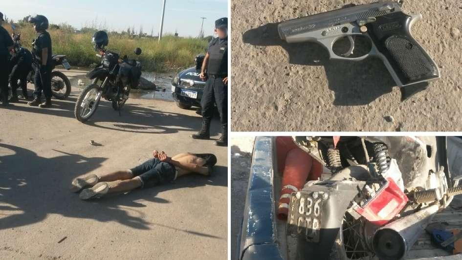 """Cayó en la """"Triple frontera"""" después de asaltar el centro comunitario del barrio La Gloria"""