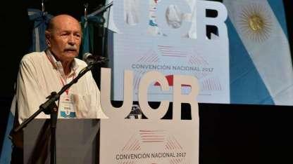 El titular de la Convención Nacional de la UCR, Jorge Sappia.