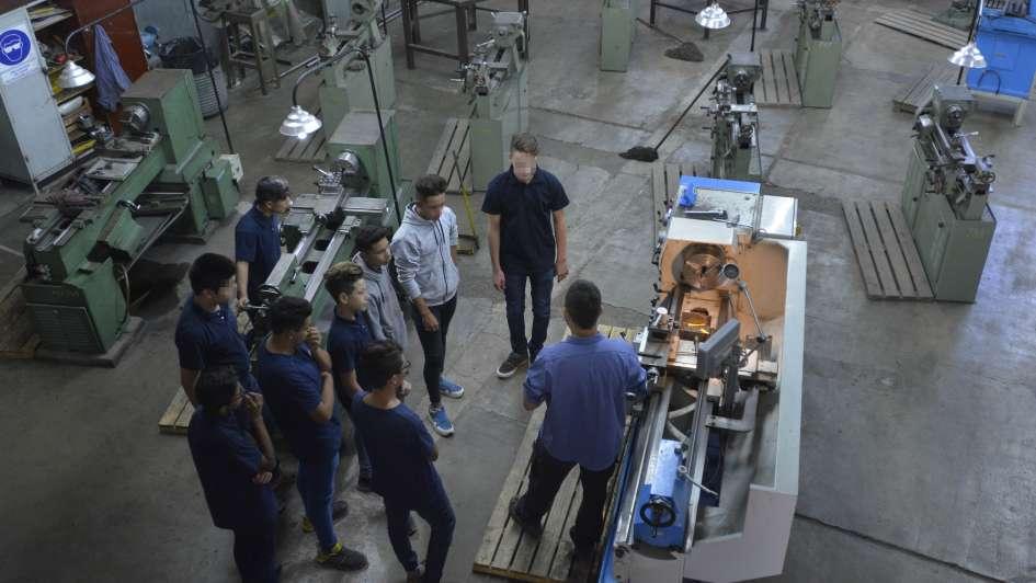 Así es la escuela técnica de Las Heras que busca alumnos para no cerrar cursos