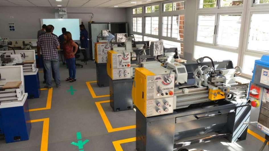 La escuela Técnica de San Martín con taller de última generación