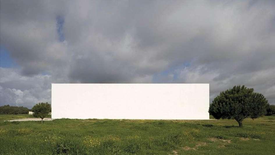 Arquitectura blanca y radiante