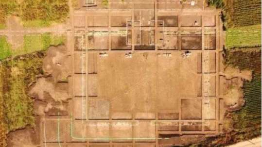 Estaban cavando para hacer la Villa Olímpica y encontraron un palacio de la dinastía Jin
