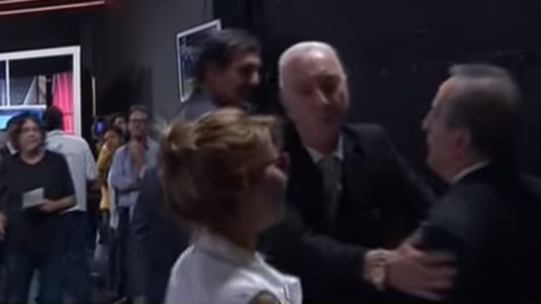 Casi se agarran: Guillermo Moreno invitó a pelear a Eduardo Feinmann
