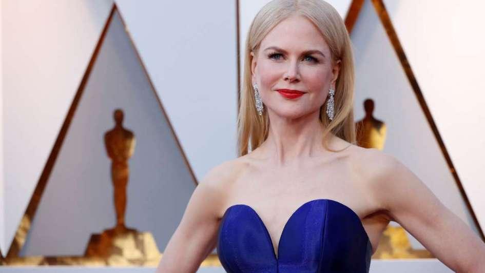 El nuevo rostro de Nicole Kidman: avejentada, con arrugas y canas