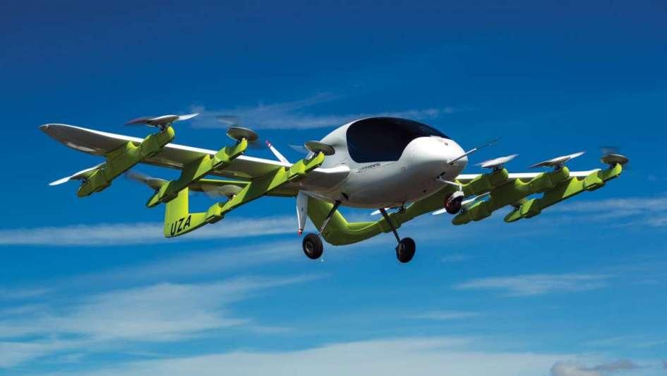 Cofundador de Google Larry Page prueba taxis voladores en Nueva Zelanda